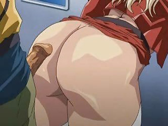 Hentai Big Butt Girl In High-Heels And Red...