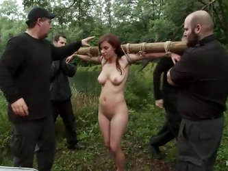 Nasty girls get humiliated and tortured in a...