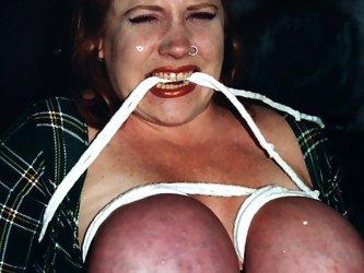 Huge boobed Rusty gets her giant melons abused