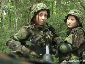 This Japanese girl is a prisoner of war. So,...