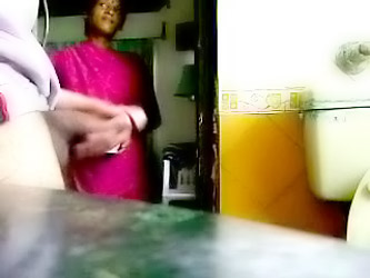 Masturbating in front of my young indian maid....