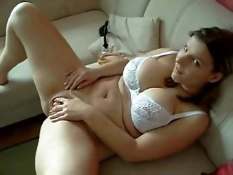CUte Chubby immature GF spreading her big...