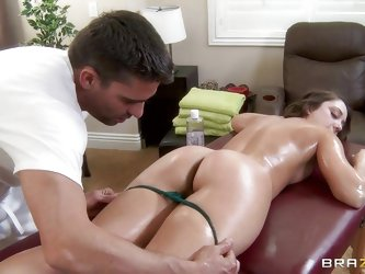 She was hoping for a relaxing massage, but the...