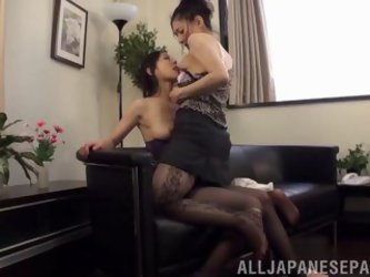 Intimate Girl On Girl Action With Adorable...