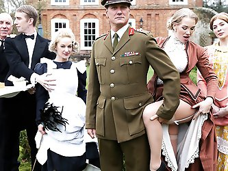 This week on Downton Grabby, horny maid Loulou...