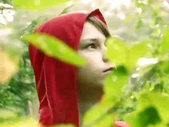 Latvian Little Red Riding Hood gets eaten by...