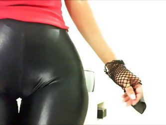 Shine Black Pants Claudiahotpants