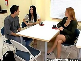 Janet Mason And India Summer Sex Teacher